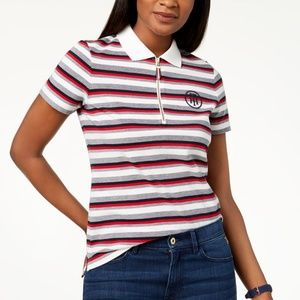 Tommy Hilfiger,  Zip-Up Polo Top